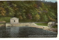 Lake_Roland_dam_postcard