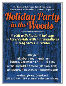 Holiday Party in the Woods @ L'Hirondelle Meadow (old rugby field)